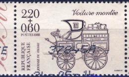 2526  VOITURE MONTEE OBLITERE ANNEE 1988 - Frankreich