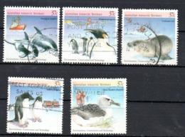 AAT Australian Antarctic Territory Michel 79-83 USED - Usados