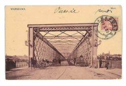 CPA HONGRIE VARSOVIE WARSZAWA MOST - Ungheria