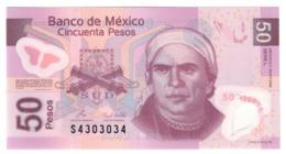 Mexico 50 Pesos 28/10/2008 UNC .PL. - Messico