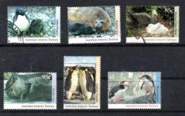 AAT Australian Antarctic Territory Michel 90-95 USED - Usados