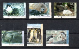 AAT Australian Antarctic Territory Michel 90-95 USED - Australian Antarctic Territory (AAT)