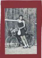CARTE CPM PUB KOOKAI PRINTEMPS/ETE  1992 FEMME AVEC SON VELO - Moda