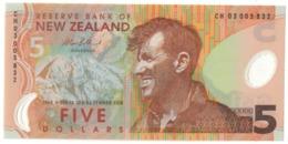 New Zealand 5 Dollars 2003 UNC .PL. - Nuova Zelanda