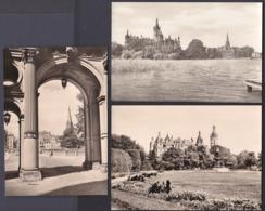 Jg_ 3 Ansichtskarten Schwerin - Ungebraucht Unused - Schwerin