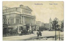 CPA HONGRIE VARSOVIE WARSZAWA TEATR WIELKI - Ungheria