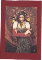 CARTE CPM PUB KOOKAI PRINTEMPS/ETE  1992 FEMME SUR LA ROUE D'UN CASINO - Moda