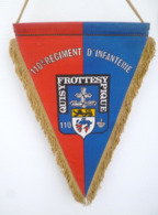 FANION 110° RI REGIMENT D' INFANTERIE DONAUESCHINGEN - Flags