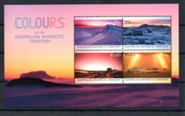 AAT Australian Antarctic Territory 2015 M/S Colours - Neufs