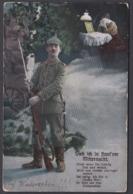 """Jg_ AK """"Steh Ich In Finst'rer Nacht.."""" - Gebraucht Used  - 1915 - Feldpost - Personen"""