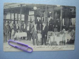 Un Grand Restaurant En BELGIQUE En 1906 - Restaurants