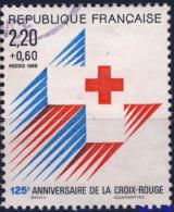 2555  CROIX  ROUGE  OBLITERE ANNEE 1988 - Frankreich