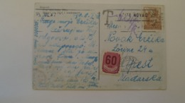D168041 Croatia ZAGREB   PU 1948 - Postage Due -Porto   60 Filler Hungary - Croatia