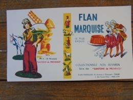 BUVARD - FLAN MARQUISE - TOULON - Blotters