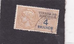 T.F De Dimension N°107 - Revenue Stamps