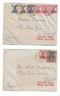 Pakistan 1948    4 Lettres Pour La France  Paris XVIe - Pakistan
