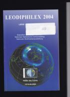 LEODIPHILEX  2004 CATALOGUE DE L EXPOSITION - Filatelistische Tentoonstellingen