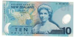 New Zealand 10 Dollars 2005 UNC .PL. - Nuova Zelanda