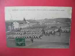Carte   Baccarat  20 è Bataillon De Chasseurs à Pied - Exercices De Marche En Cadence - Baccarat