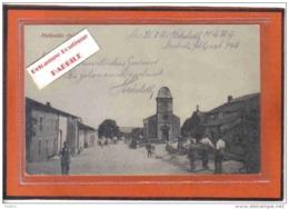 Carte Postale 54. Halloville  Cachet Militaire  Allemand Trés Beau Plan - France
