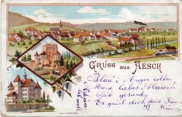 Gruss Aus AESCH    - Incunable 1900  (116441) - Other