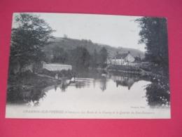 CHAMBON Sur VOUEIZE - Les Bords De La Vouaize Et Le Quartier Du Pont Delamarre - Voyagée En 1905 - Chambon Sur Voueize