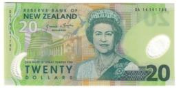 New Zealand 20 Dollars 2014 UNC .PL. - Nuova Zelanda