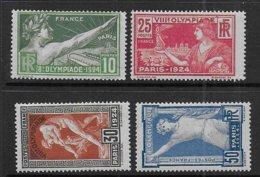 Jeux Olympiques Série N° 183 à 186 **  - Cote 160 € - Unused Stamps