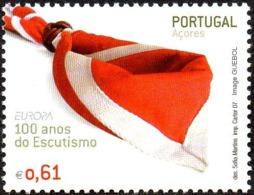 CEPT / Europa 2007 Acores N° 521 ** Le Scoutisme - 2007