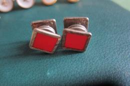 1 Paire De Boutons De Manchettes - Juwelen & Horloges