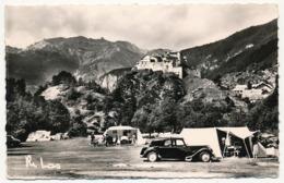 CPSM - CHATEAU-QUEYRAS (Hautes Alpes) - Le Camping Et Le Fort - Otros Municipios