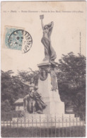 75. PARIS. Buttes Chaumont. Statue De Jean Macé, Littérateur. 123 - France