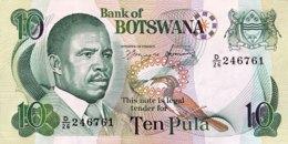 Botswana 10 Pula, P-12 (1992) - EF/XF - Botswana