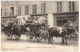 SAINT DIE (88) - La Guerre Dans Les Vosges 1914-15 - Le Dernier Convoi De Blessés Allemands - Ed. At. Bouteiller, St Dié - Saint Die