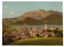 Photochrome 1650 P.Z., St. Gilgen, Österreich, 1890-1900, Infos Zu Photochrom S. Unten - Ancianas (antes De 1900)