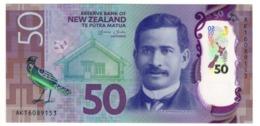 New Zealand 50 Dollars 2016 UNC .PL. - Nieuw-Zeeland