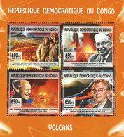CONGO EX ZAIRE Volcans 4v 2013 Neuf ** MNH - Dem. Republik Kongo (1997 - ...)
