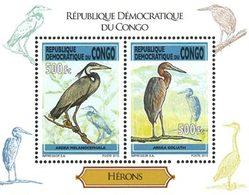 CONGO EX ZAIRE Hérons 2v  2013 Neuf ** MNH - Dem. Republik Kongo (1997 - ...)