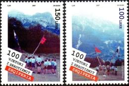 CEPT / Europa 2007 Albanie N° 2834 Et 2835 ** Le Scoutisme - Enfants - 2007