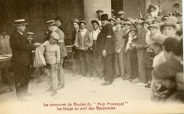 BOULES PETANQUE FANNY MARSEILLE CONCOURS DU PETIT PROVENCAL TIRAGE AU SORT DES BENJAMINS - Marseilles