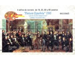 Ref. 85969 * MNH * - SPAIN. 1995. SPANISH PAINTING. ANTONIO MARIA ESQUIVEL . PINTURA ESPAÑOLA. ANTONIO MARIA ESQUIVEL - 1931-Aujourd'hui: II. République - ....Juan Carlos I