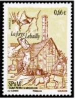 "SPM YT 1108 "" La Forge Lebailly "" 2014 Neuf** - St.Pierre & Miquelon"