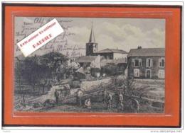 Carte Postale 54. Essey  Cachet Militaire  Allemand Trés Beau Plan - France