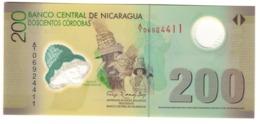 Nicaragua 200 Cordobas 12/09/2007 S/N A1/0 UNC .PL. - Nicaragua