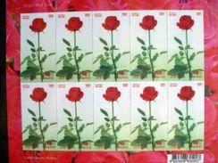 Thailand Stamp FS 2005 Rose 4th - Thailand