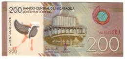 Nicaragua 200 Cordobas 26/03/2014 S/N A0 UNC .PL. - Nicaragua