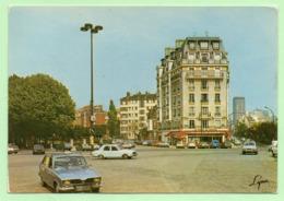 """CPSM - PARIS - Place Rungis - Voitures """"Vintage"""" - Arrondissement: 13"""