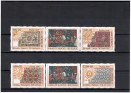 Uzbekistan 2009 .Applied Arts (Suzanne). 4v:450,600,1000,1200+labl.    Michel # 835-38 - Ouzbékistan