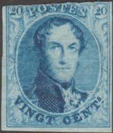 Belgique COB / Y&T 11 Neuf Avec Gomme, 2ème Choix. 20 C Médaillon Allongé - 1858-1862 Medaglioni (9/12)