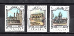 ITALIA :  Serie   Fontane D'Italia  5a Serie  3 Valori  MNH**  Del  18.10.1977 - 1971-80: Ungebraucht
